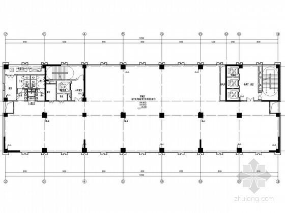 [安徽]检验检测中心业务用房给排水消防施工图(绿色建筑)
