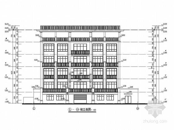 [广东]四层框架结构私人住宅结构施工图(含建筑图)