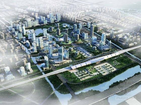 [江苏]城市规划及单体设计方案文本