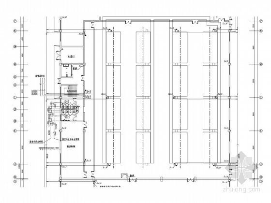 厂房车间给排水及消防施工图(雨水系统)