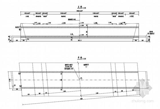 整体闭合式框架临时箱涵设计套图(10张)