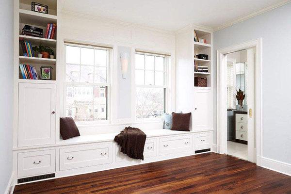 2018小户型飘窗设计效果图,看完再装你家也能这么美!