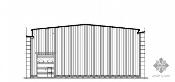 [北京丰台]某24米跨天车厂房改造工程建筑施工图
