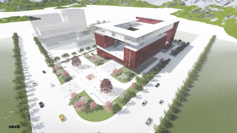 [青海]办公建筑档案馆设计过程记录及方案文本(500+页PPT)