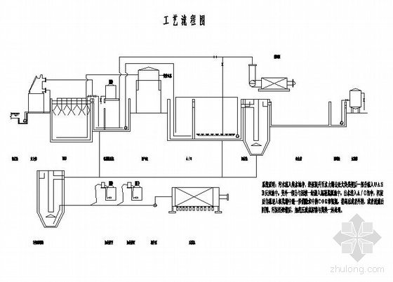某养殖废水处理系统图纸