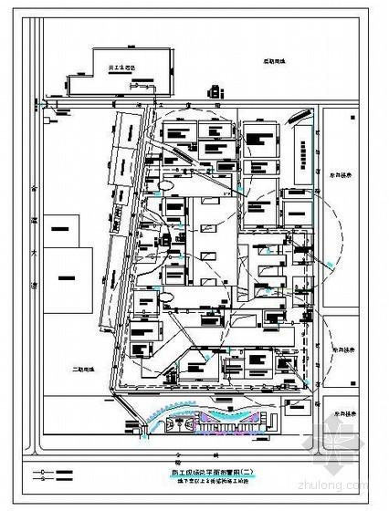 [江西]框剪结构综合楼施工组织设计(平面图、横道图)