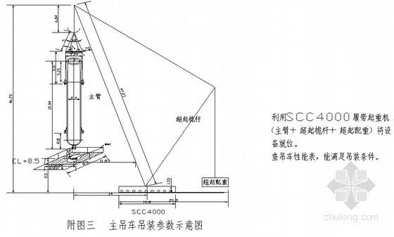 氨合成塔吊装施工方案(履带起重机、汽车吊车)