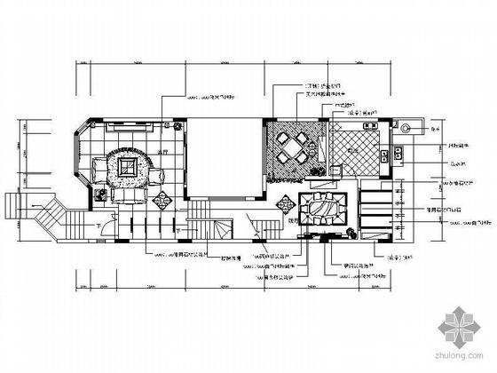 三层欧式华丽联排别墅装修图