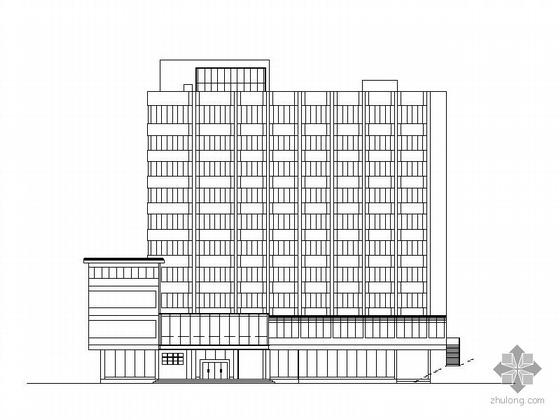 [改建]某十层妇幼保健院综合楼方案CAD图