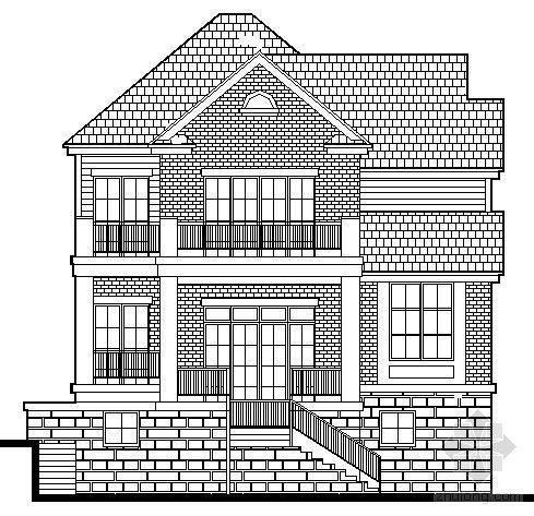 丹堤C区1号楼建筑施工图
