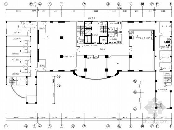 多层酒店建筑通风及防排烟系统设计施工图