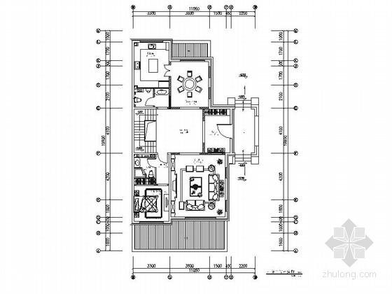 [北京]精品现代风格三层联排别墅室内装修施工图