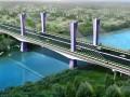 [广西]54.5m宽矮塔斜拉桥三向预应力单箱三室主梁悬臂支架现浇施工方案103页