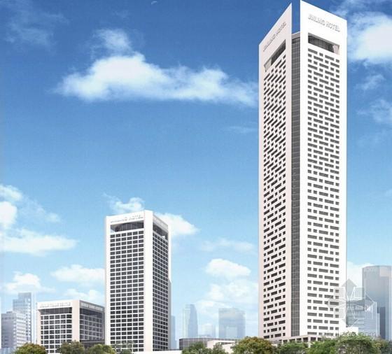 [江苏]五星级饭店扩建塔楼钢结构工程施工组织设计(150页 主体劲性钢结构)