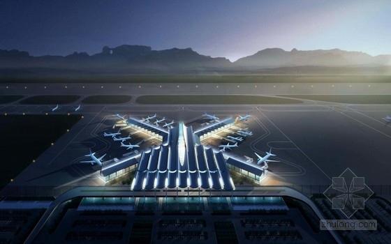 """[湖南]""""X""""型模块化钢结构机场建筑设计方案文本(含CAD及多媒体)"""