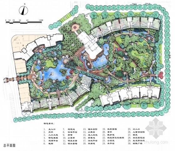 [苏州]生态住宅区景观扩初设计方案文本