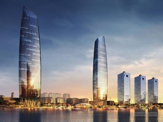 [北京]超高层办公及商业建筑设计方案文本(知名地产)
