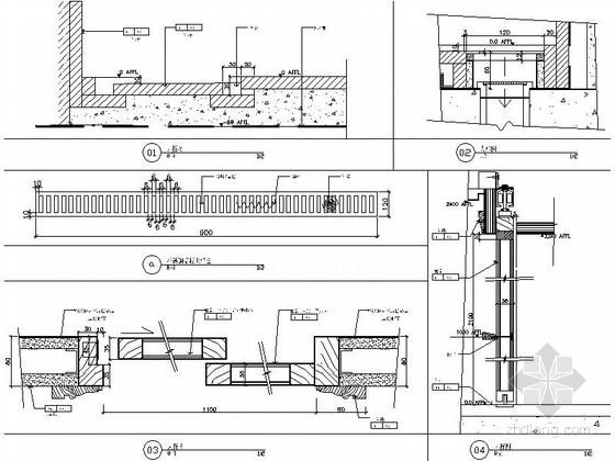 [苏州]社区型中心高档酒店客房装修施工图(含效果)大样图