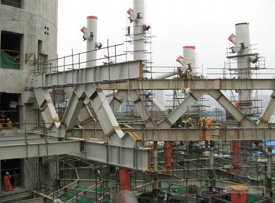 [广东]610米超高层电视塔钢结构安装施工技术研究(99页,丰富图片)