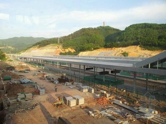 火车站东西两侧匝道桥(现浇箱梁桥)施工图(两套 2012年)