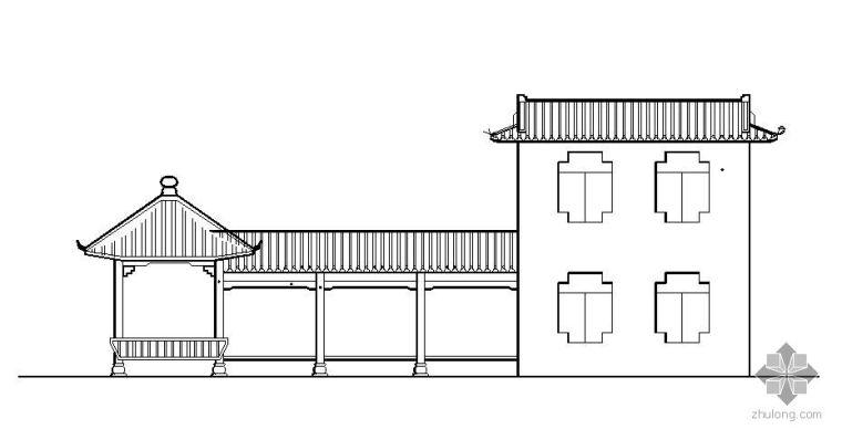 特色古建筑施工图
