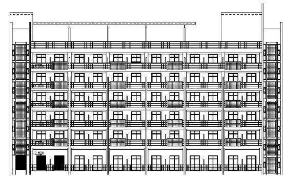 某工厂餐厅及宿舍楼建筑、结构施工图