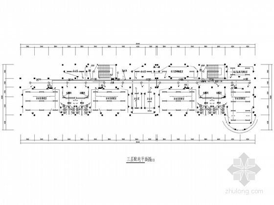 [上海]幼儿园电气施工设计图纸