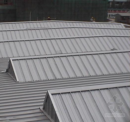 体育馆金属屋面施工技术总结(铝锰镁合金板、彩钢)