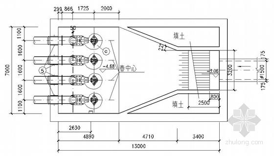 上海某污水泵站全套工艺图