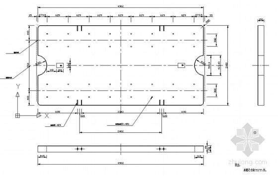 I型无砟轨道资料下载-高速铁路CRTS I型无砟轨道板图纸(全套)