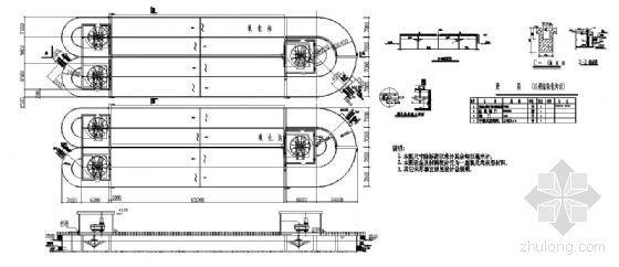 氧化沟设计图纸(毕业设计)
