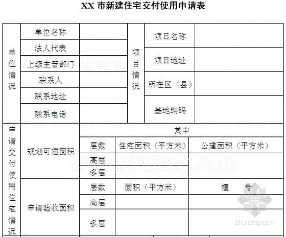 [标杆地产]房地产物业管理收楼流程及验房资料表格(27套)