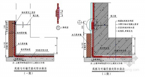 地下室防水施工方案(自粘防水卷材)
