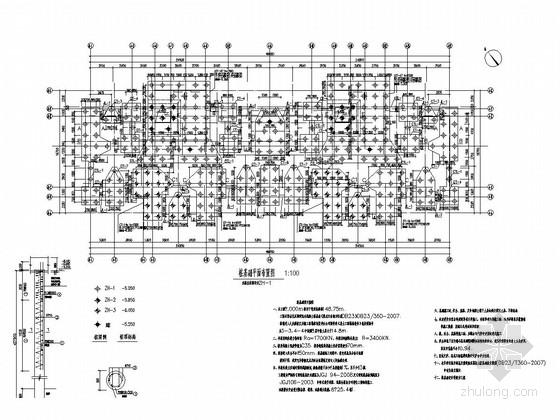 [大庆]28层剪力墙高层住宅结构施工图