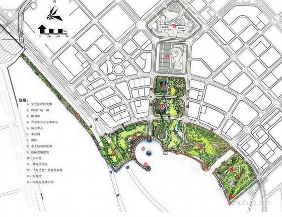 [深圳]滨海广场周边环境设计方案