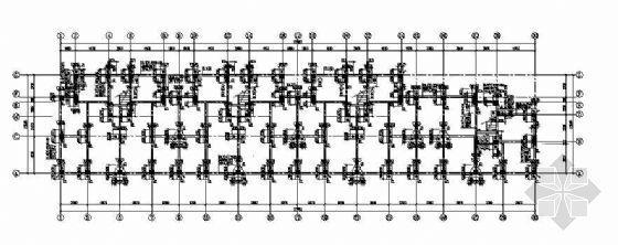 某六层框架异形柱住宅楼结构图纸