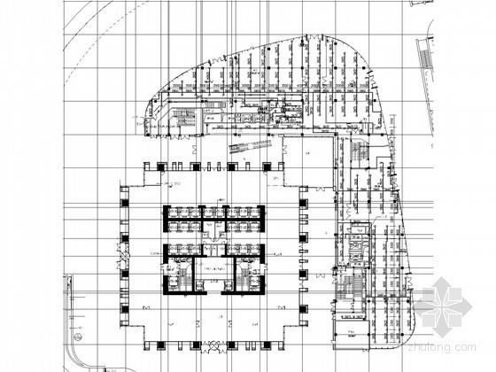 [福建]280米超高层办公楼给排水消防施工图(虹吸雨水 气体灭火 大空间智能)