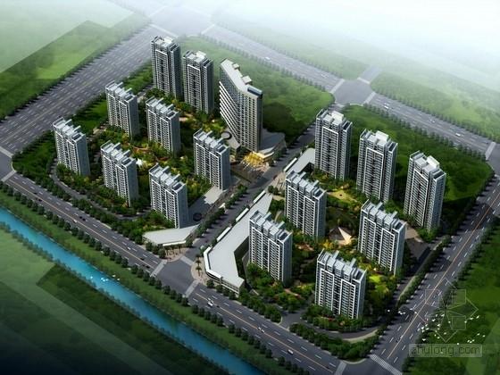 [浙江]现代风格住宅区规划及单体设计方案文本(精品住宅设计方案,内容丰富)