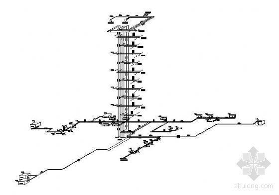 长沙某酒店空调设计图