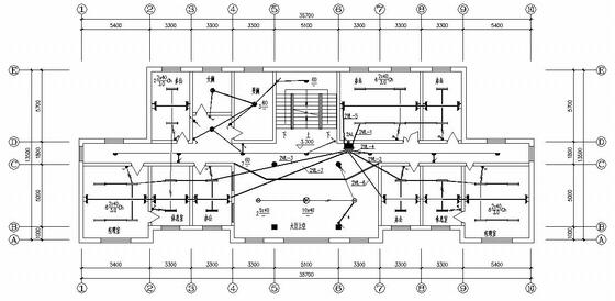 山西某水厂全套电气施工图