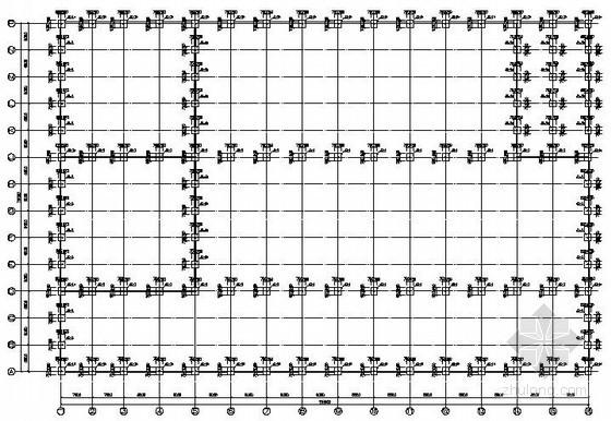 都江堰某带吊车钢结构厂房结构设计图