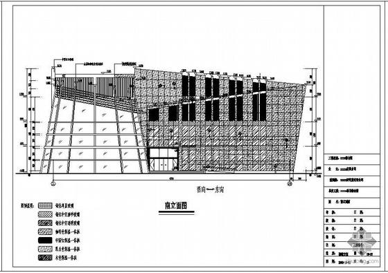 某酒店综合楼幕墙工程设计图(含计算书)