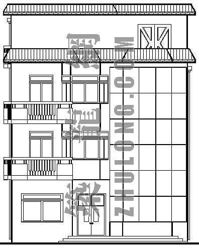 某乡村小别墅建筑设计方案
