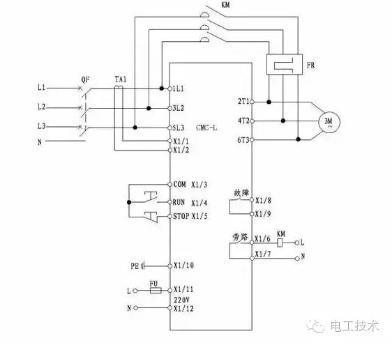软启动器工作原理及其接线图文大全!