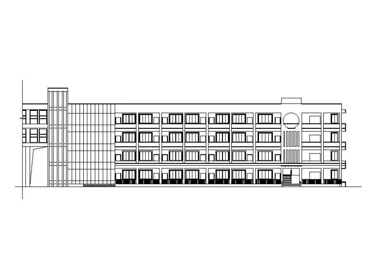 [浙江]现代学院风格小学全套校园建筑设计方案图纸