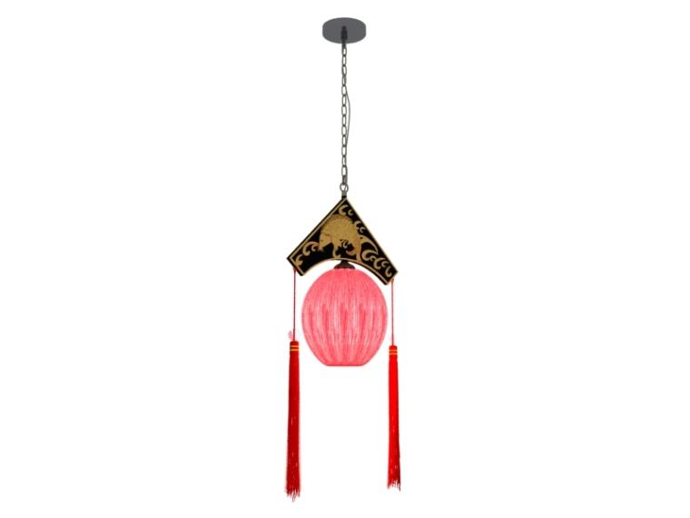 宫廷吊灯3D模型下载-宫廷吊灯