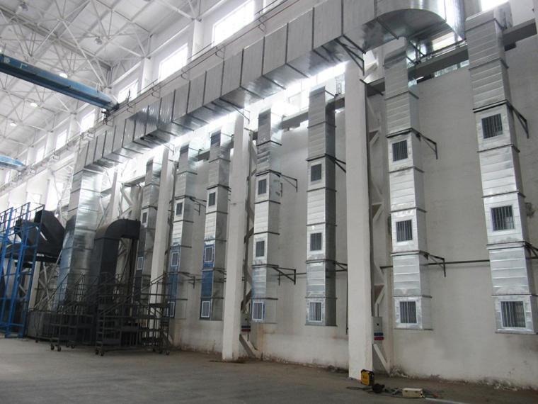 暖通施工风管系统制作、安装图片实例