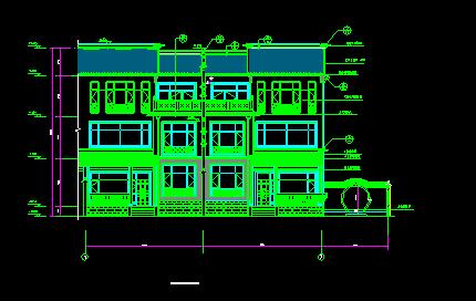 某高档别墅设计图_4