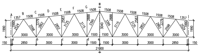 梯形钢屋架结构设计实例