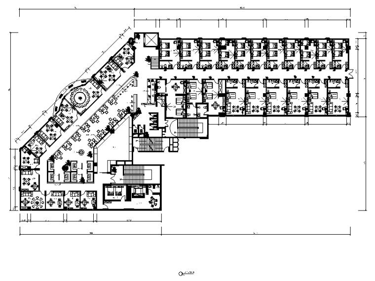 茶楼餐厅效果图资料下载-[常德]1200平米某宾馆及茶楼中式风施工详图(含效果图12张)